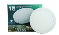 18W LED Surface Round Panel